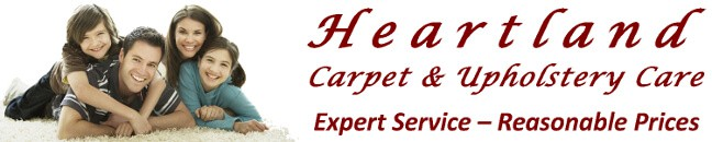 Heartland Carpet & Upholstery Care, Expert Service - Reasonable Prices